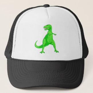 Bright Green Tyrannosaurus Rex Trucker Hat