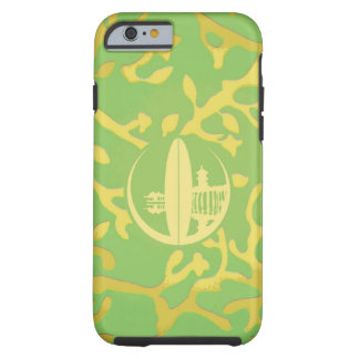 Bright Green Yellow Coral iPhone 6 Case