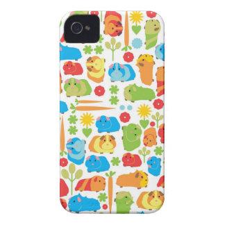Bright Guinea Pig Patch iPhone 4 Case