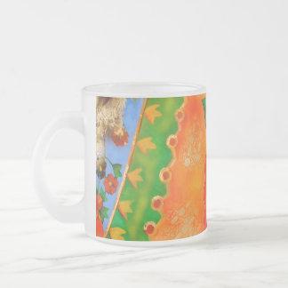 bright gypsy patterned floral mug