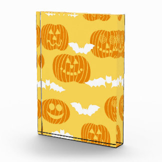Bright Halloween Pumpkin Bat Design Awards
