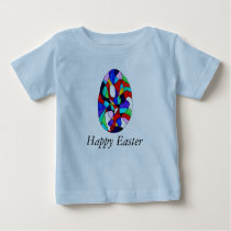 Bright Happy easter Baby T-Shirt