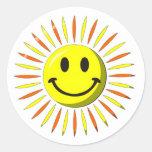 Bright Happy Smile - Smiley Face Sticker