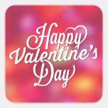 Bright Happy Valentine's Day Sticker