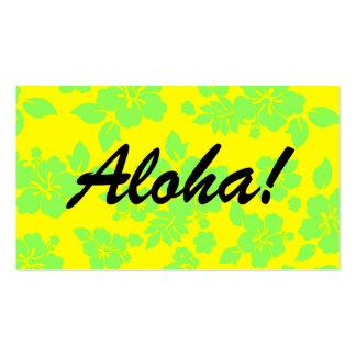 Bright Hawaiian Business Card