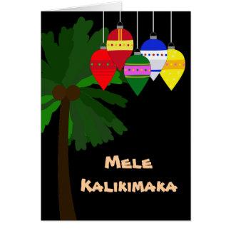 Bright Hawaiian Christmas Cards
