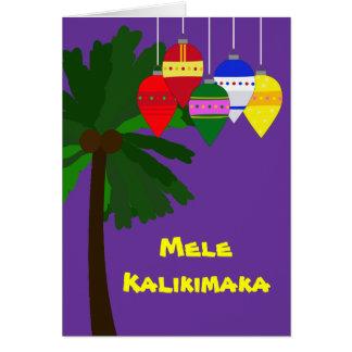 Bright Hawaiian Christmas Greeting Cards