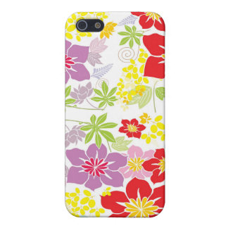 Bright Hawaiian flowers Covers For iPhone 5