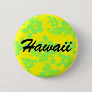 Bright Hawaiian Pinback Button