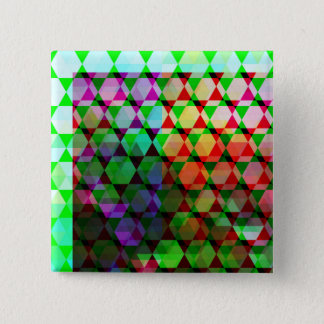 Bright Hex Graphic Design Button