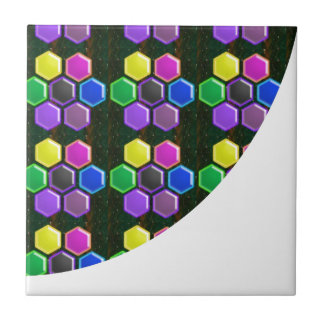 BRIGHT Hexagon Sparkle BUTTONS GoodLUCK lowprice Tile