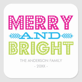 BRIGHT HOLIDAY HOLIDAY STICKERS