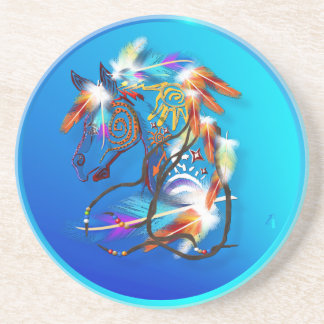 Bright Horse 2 Coasters