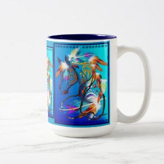 Bright Horse 2 Mugs