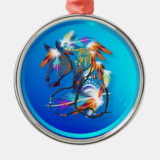 Bright Horse 2 Ornaments
