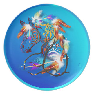 Bright Horse 2 Plates