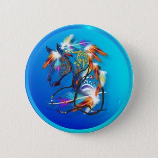 Bright Horse Buttons