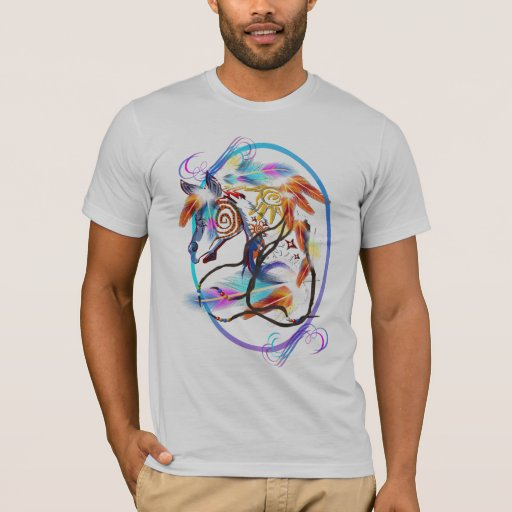 Bright Horse Framed T-Shirt