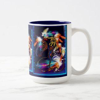 Bright Horse Mugs
