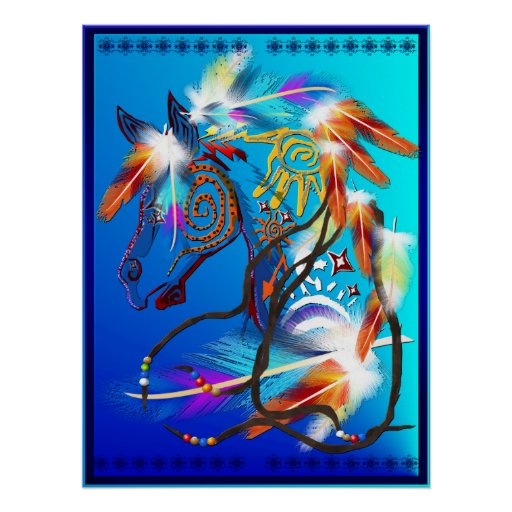 Bright Horse Posters