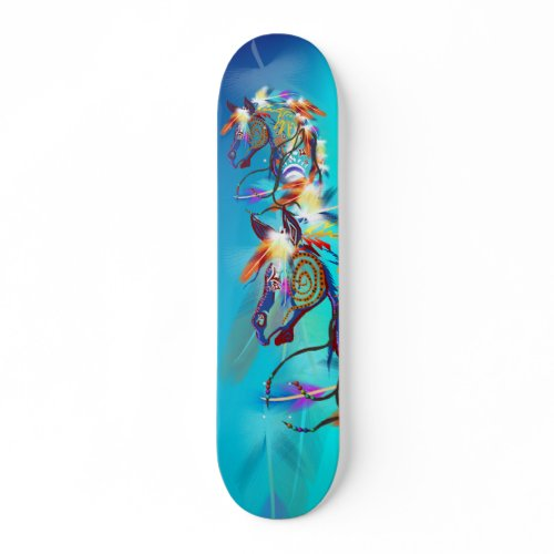 Bright Horse Skateboard skateboard