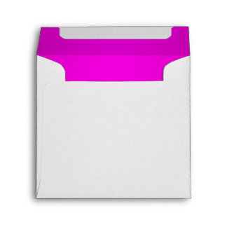 Bright Hot Pink Envelope