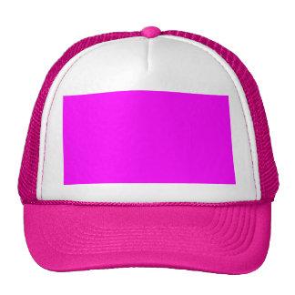 Bright Hot Pink Trucker Hat