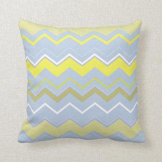 Bright Hues Mix Throw Pillow