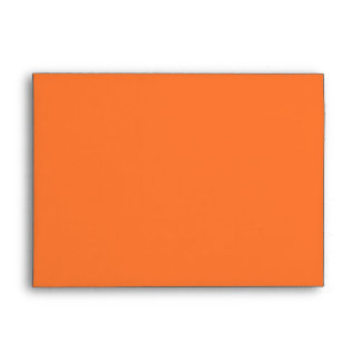 Bright Hunter Safety Orange Envelopes