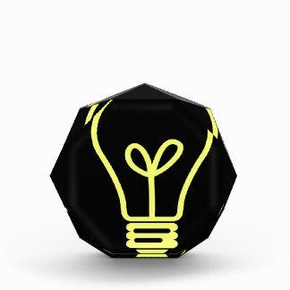 Bright Idea Acrylic Award