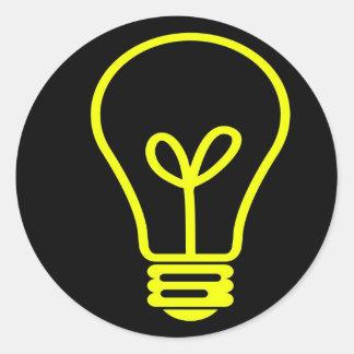 Bright Idea Classic Round Sticker