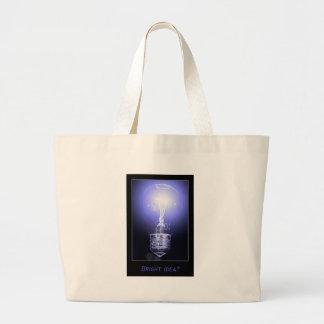 Bright Idea? Jumbo Tote Bag