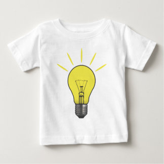 Bright Idea Light Bulb Baby T-Shirt