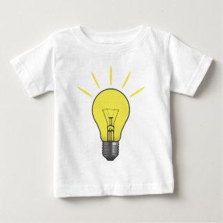 Bright Idea Light Bulb Baby T-Shirt