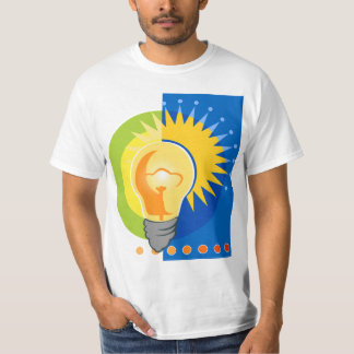 Bright Idea Light Bulb Electric T-Shirt
