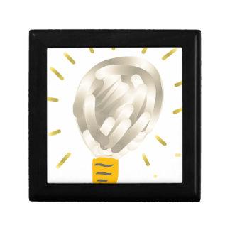 Bright idea light bulb gift box
