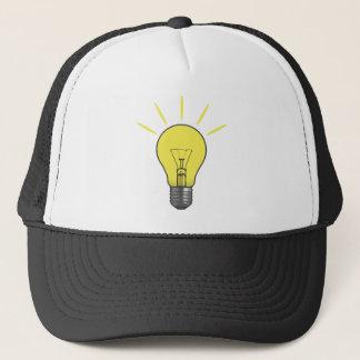 Bright Idea Light Bulb Trucker Hat