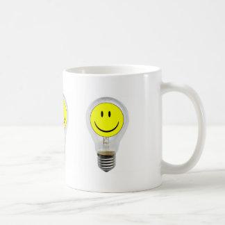 BRIGHT IDEA CLASSIC WHITE COFFEE MUG