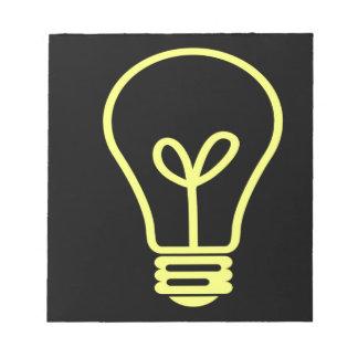 Bright Idea Notepad