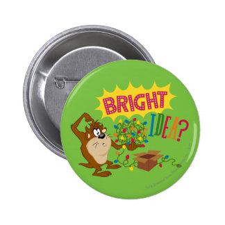 Bright Idea Pinback Button