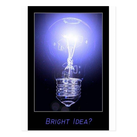 Bright Idea? Postcard