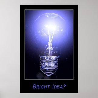 Bright Idea? Poster