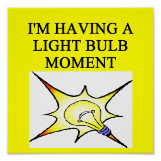 bright idea print
