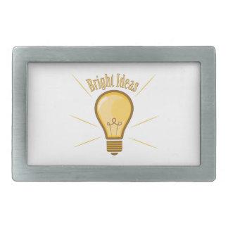 Bright Ideas Belt Buckles