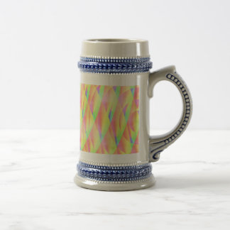 Bright Interference Beer Steins Coffee Mugs