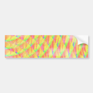 Bright Interference Bumper Sticker