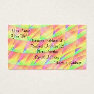 Bright Interference by Kenneth Yoncich Business Card