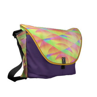Bright Interference by Kenneth Yoncich Courier Bag
