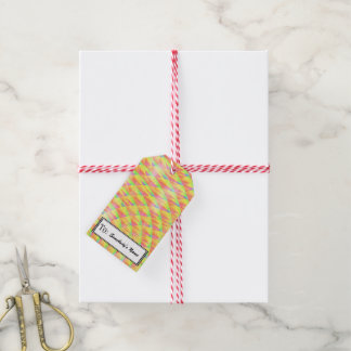 Bright Interference Pack Of Gift Tags