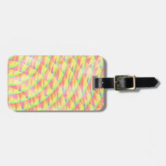 Bright Interference Luggage Tag